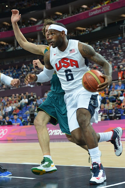 LeBron James8217 Historic TripleDouble helps US beat Australia
