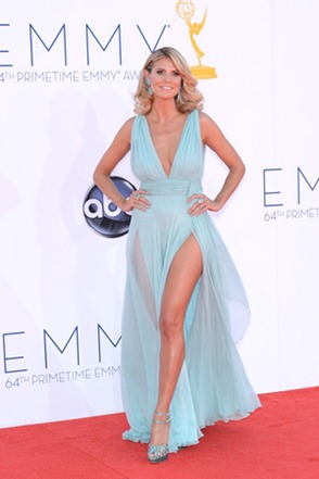 Heidi Klum Dress Was a Daring Pick to Show Off the Toned Glamour