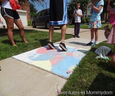 chalk walk everyone sins