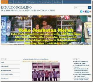 ronaldorozalino.blogspotdotcom Pindah Web ke ronaldorozalinodotnet