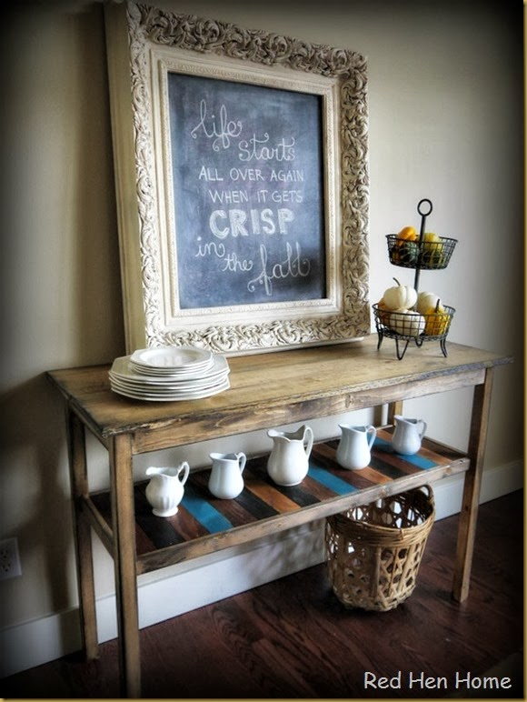 Red Hen Home Console Table 1