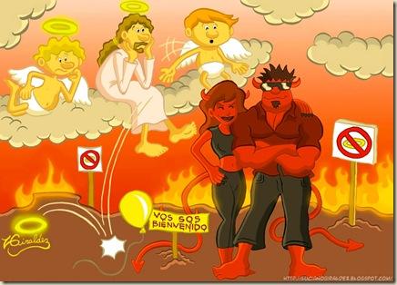 infierno ateismo humor grafico dios biblia jesus religion desmotivaciones memes (10)