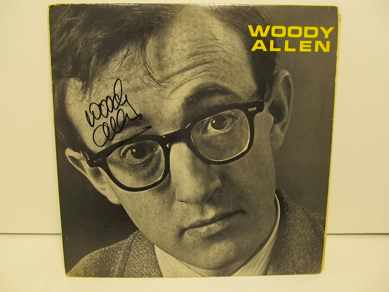 Signed Woody Allen Record