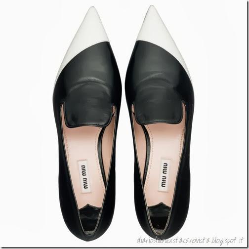 pantofole miu miu