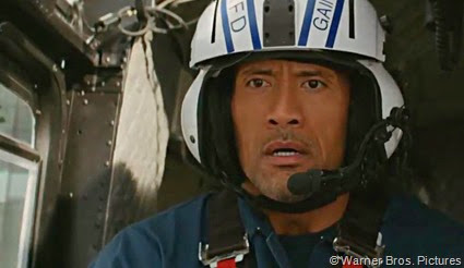 Dwayne Johnson stars in SAN ANDREAS.