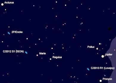 trio de cometas