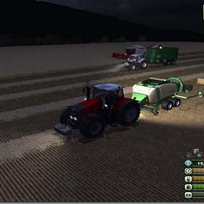Farming simulator 2013 - Krone Big Pack Attacher v 2.1