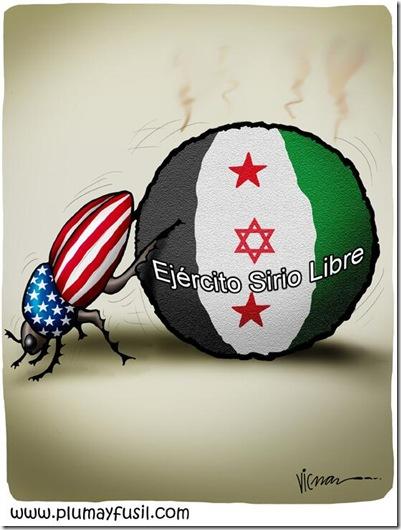 Vicman - Estiércol de guerra contra Siria