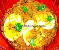 Egg  Moglai Hravy