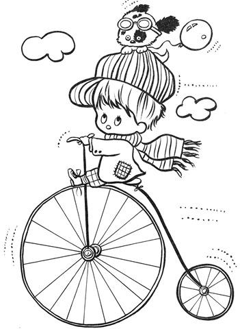 desenhos-colorir-menino-andando-de-bicicleta