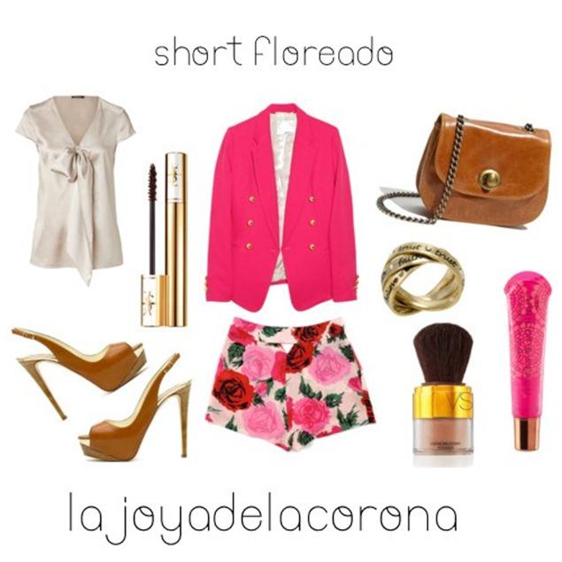 short floreado