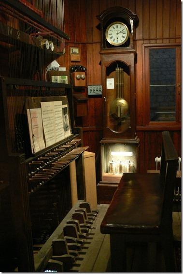 カリヨン演奏の鍵盤
