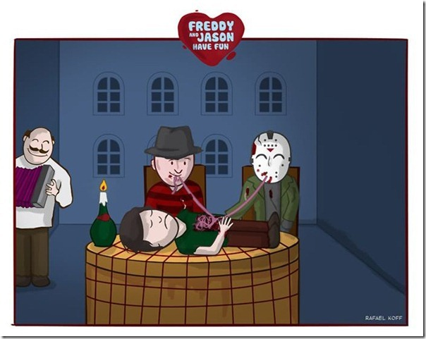Freddy e Jason se divertindo (6)