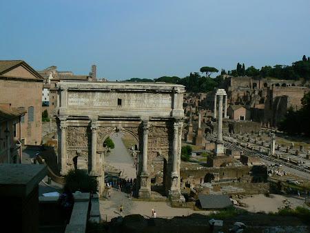 Obiective turistice Roma: Forul Roman