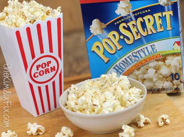 Parmesean Cheese Popcorn