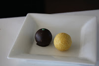 Some truffles to top things off...