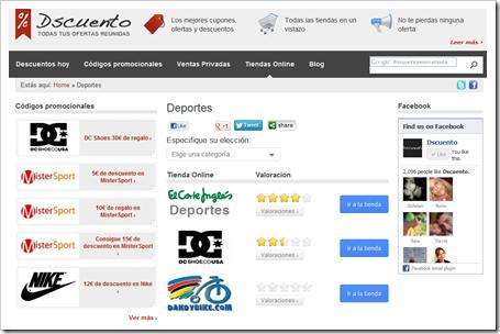 Comprar por Internet al mejor precio gracias a Dscuento.com. Tiendas online y promociones.