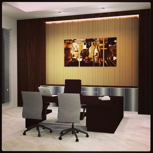 Missindependent for Director office interior design