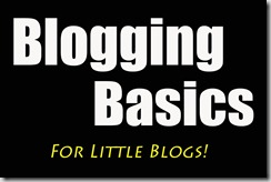 blogbasics