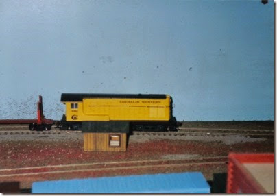 19 HO-Scale Layout at the Lewis County Mall in January 1998