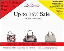 Be Bonita American Branded Bag Sale 2013