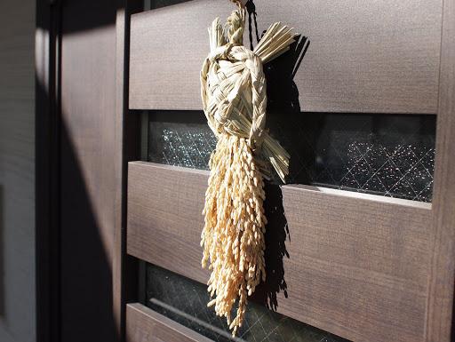 [写真]今年の正月飾りは亀