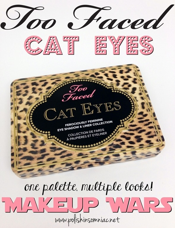 Makeup Wars Too Faced Cat Eyes Palette