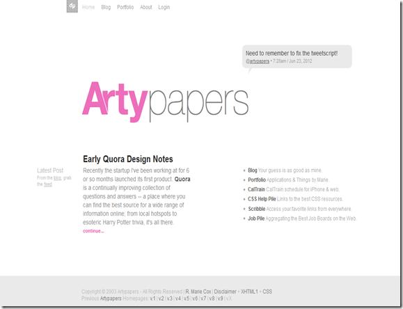 willi putra 10 Web Desain Minimalis Pilihan Untuk Anda