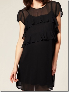 Frill front dress1
