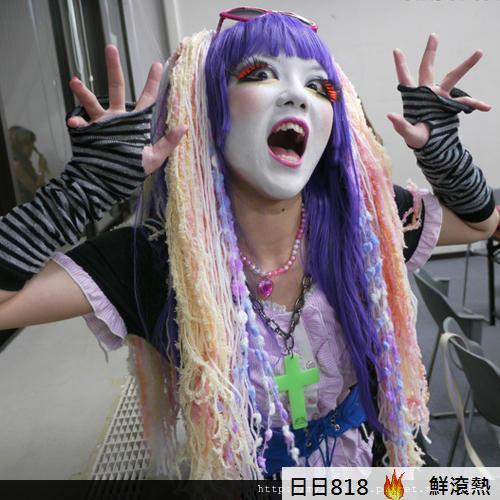 日本新人種 白臉辣妹