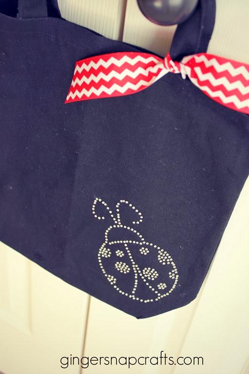 ladybug bag #SilhouetteChallenge