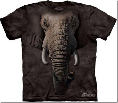 tricou - model elefant