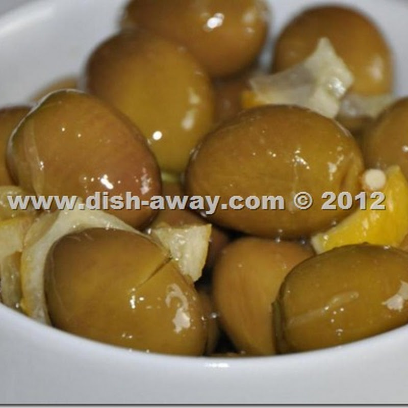Pickled Green Olives Mediterranean Style Recipe