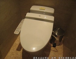 深圳寶利來國際大酒店,使用免治馬桶。