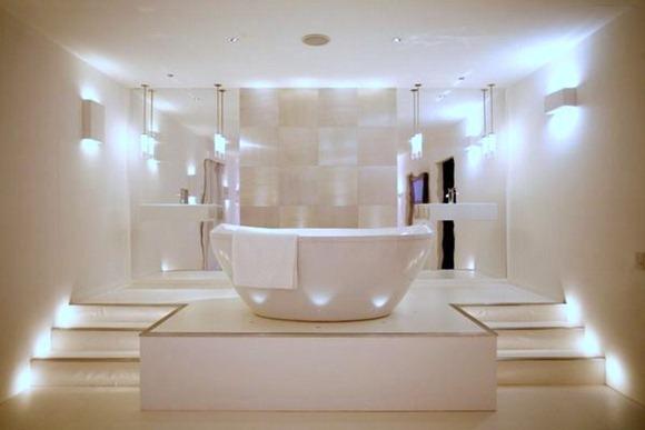 Opciones baño Iluminación para un espacio moderno