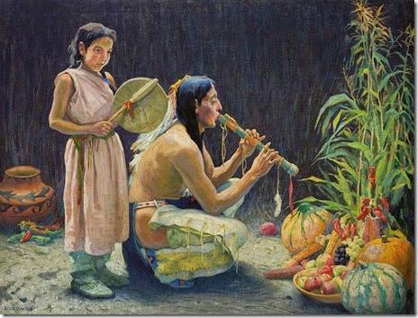 A canção da colheita, Eanger Irving Couse