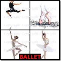 BALLET- 4 Pics 1 Word Answers 3 Letters