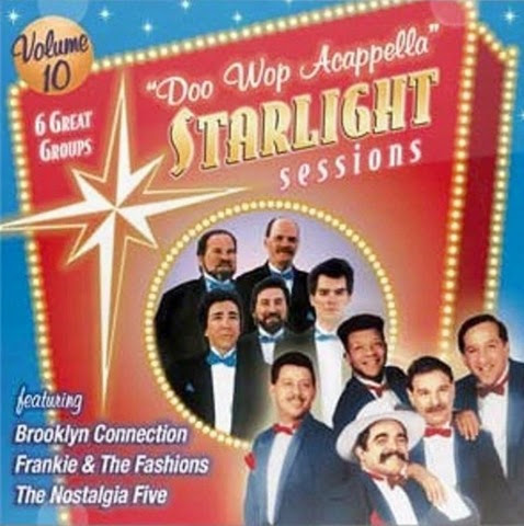 Doo Wop Acappella Starlight Sessions - Volume 10 - Front Cover