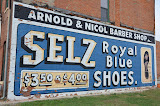 """Royal Blue Shoes"" - copyright David Thompson"