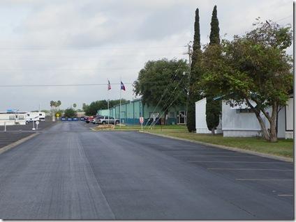 Leaving Alamo Rec Veh