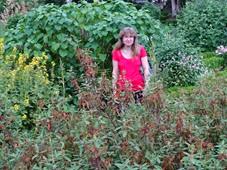 2014.07.19-057 Stéphanie dans le jardin des plantes