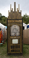 A Game Booth, Woodford Folk Festival