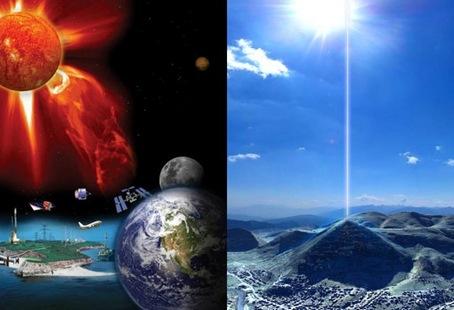 a planeta sol piramides misterios