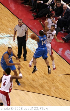 'Toronto Raptors vs. Orlando Magic' photo (c) 2008, ocad123 - license: http://creativecommons.org/licenses/by-sa/2.0/