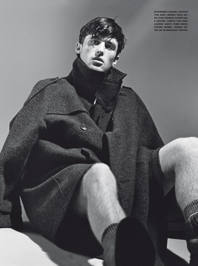 James Frecheville by Bruce Weber for L'Uomo Vogue, Jul/Aug 2011