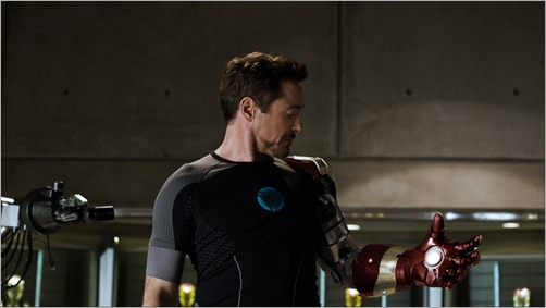 """Marvel's Iron Man 3""<br /><br />Tony Stark/Iron Man (Robert Downey Jr.)<br /><br />Ph: Film Frame<br /><br />© 2012 MVLFFLLC.  TM & © 2012 Marvel.  All Rights Reserved."
