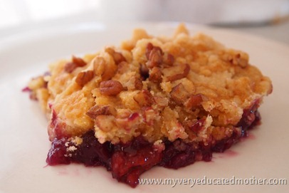 www.myveryeducatedmother.com Classic Dump Cake #cake #recipes