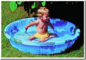 kiddy pool, kiddie pool, hard plastic