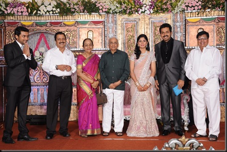 karthi ranjini wedding reception stills-10