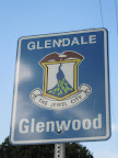 Glenwood area of Glendale. This sign is located on W. Kenneth Road, just west of Pacific Avenue.